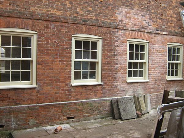 woodworking Carpentery windows Hardwood windows Round windows Joinery oak glass Double Glazing
