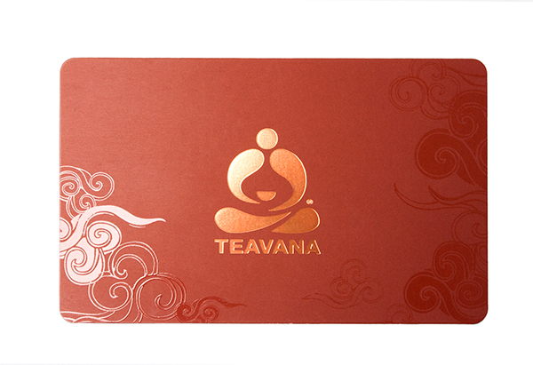 Teavana Giftcard/Rewards Card on Behance
