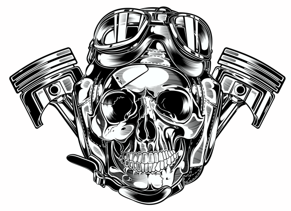 skull logo wallpaper