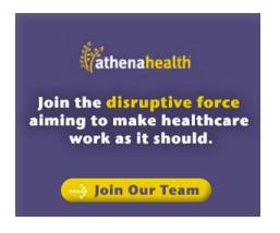 banner ads ads Internet athena health