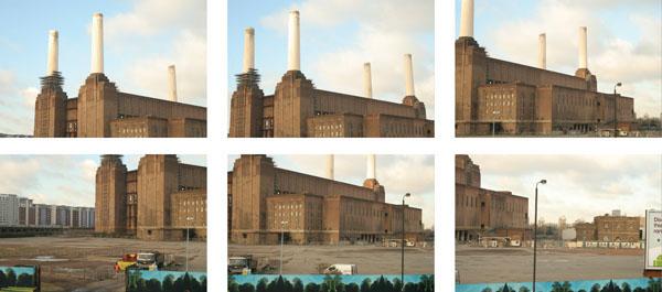 London Battersea car Transports BMW video vfx CGI