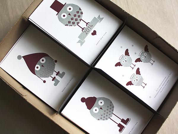 有美感的27張聖誕卡片欣賞