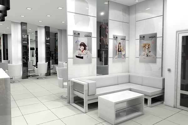 S A Group Beauty Salon Interior Design On Behance