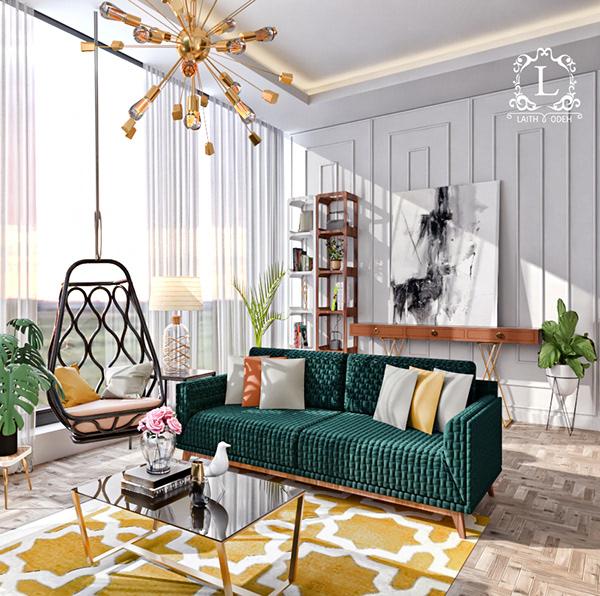有美感的22張房間顏色搭配欣賞
