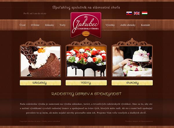 design,Web,cake,bakery