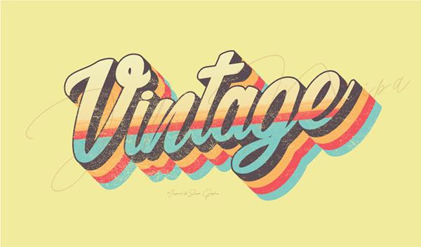 Retro Vintage Typography