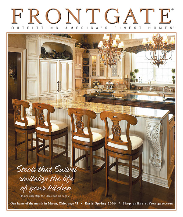 Front Gate Home Decor: Frontgate Catalog On Behance