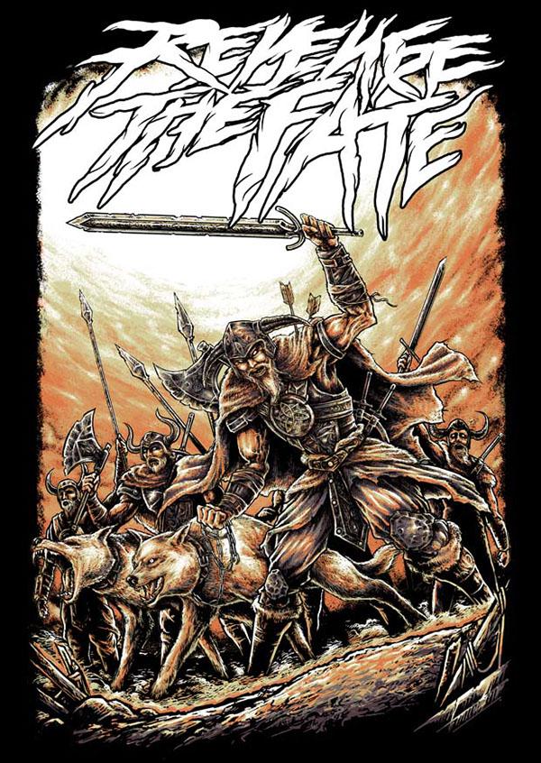 Viking War On Behance