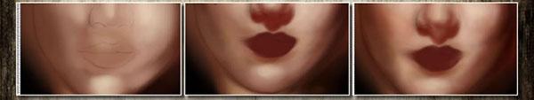 Digital Painting Tutorial: Lips v3