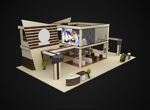 Exhibition Stand Designer Jobs In Qatar : Exhibition stand design for mec qatar on behance