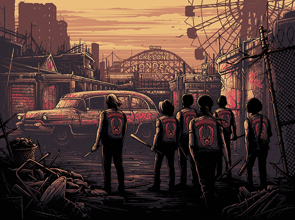 You Warriors are good, Real Good by Dan Mumford