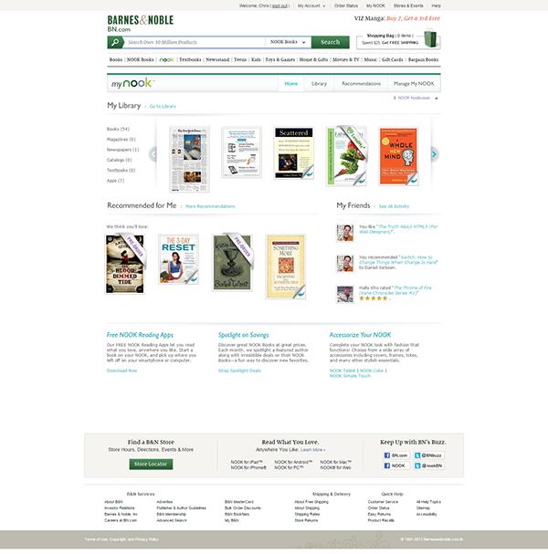 barnes and noble nook eBooks eReader