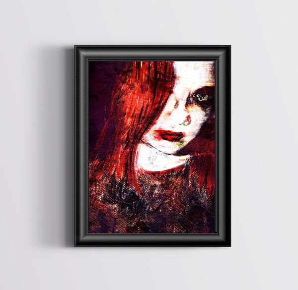 Peinture sur photo
