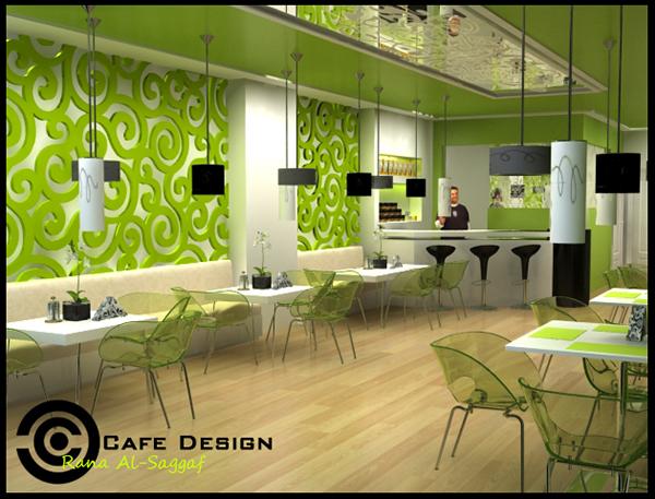 cafe design on behance