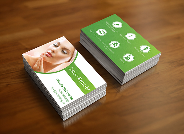 Business cards for a beautician on behance colourmoves