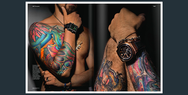 Men's Luxury Watches on Pantone Canvas Gallery