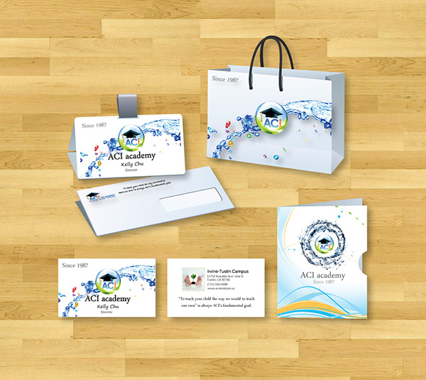Freelance SAT Education flyer brochure college prep brand identity print Pre Press Pleedesigner private school admission advertising conference presentations Business Cards