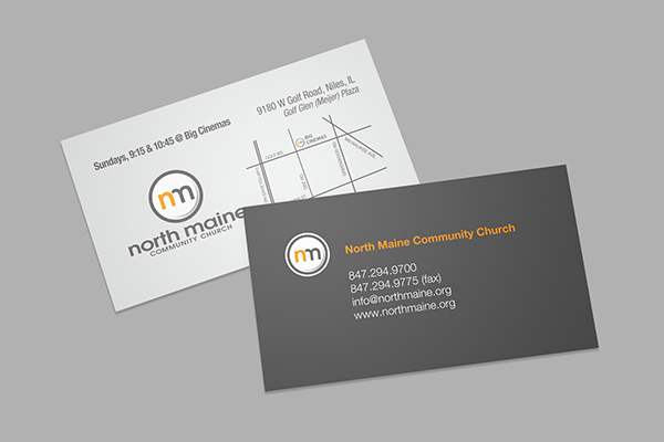 Business cards on behance this is a dual purpose business card that provides contact information for each staff member on the front and information about church service times and colourmoves