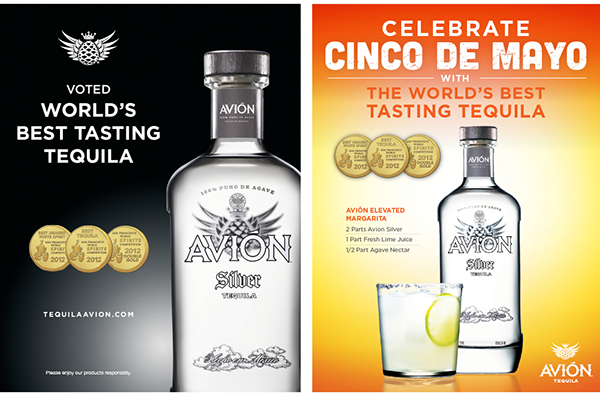 Avion tequila on behance for Avion tequila mixed drinks