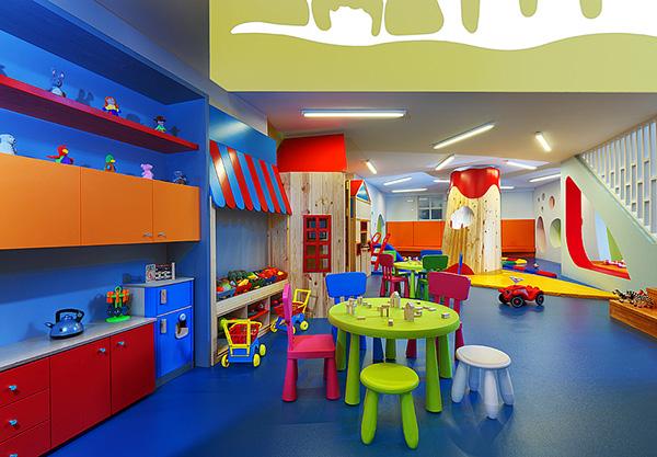 Bobiroupoli kindergarten on behance for Play school interior design ideas
