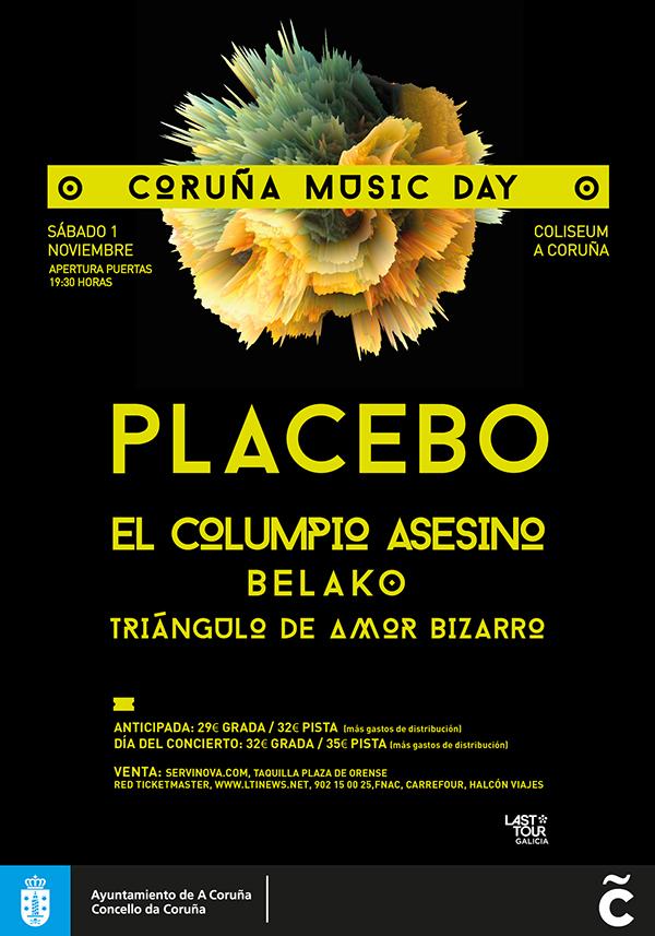música concierto cartel