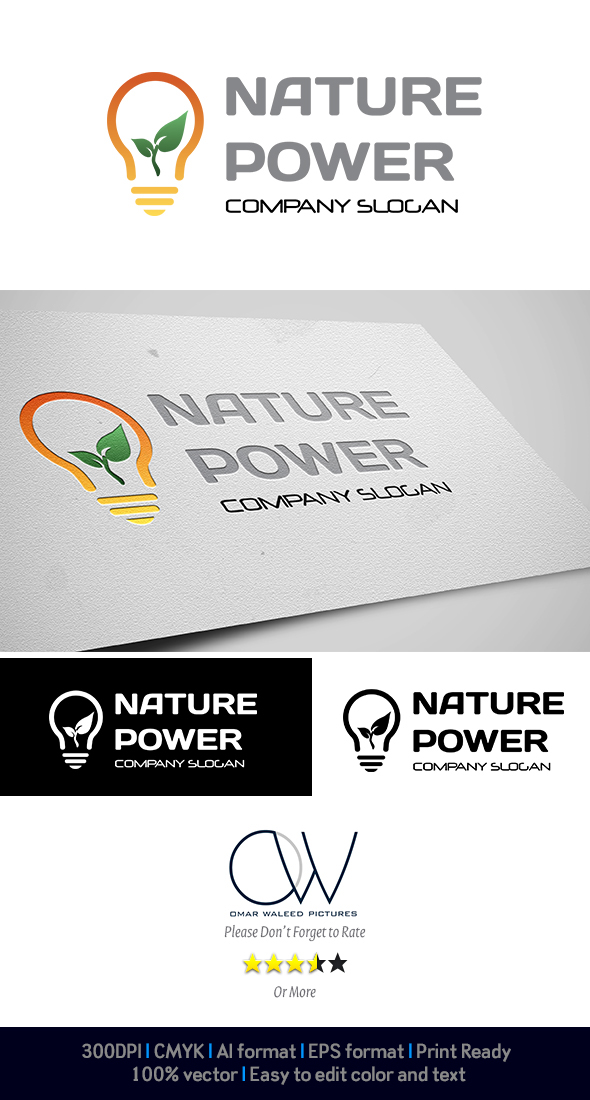 OWPictures - Nature Power Logo