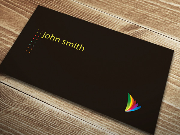 Minimal business card template on behance beautiful free minimal business card template with multiple color dot design this minimal design includes both front and back sides of the business card colourmoves
