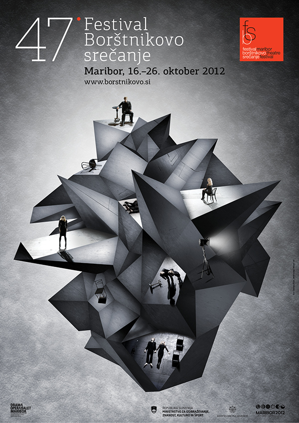 Theatre Festival In Maribor Poster Thank You