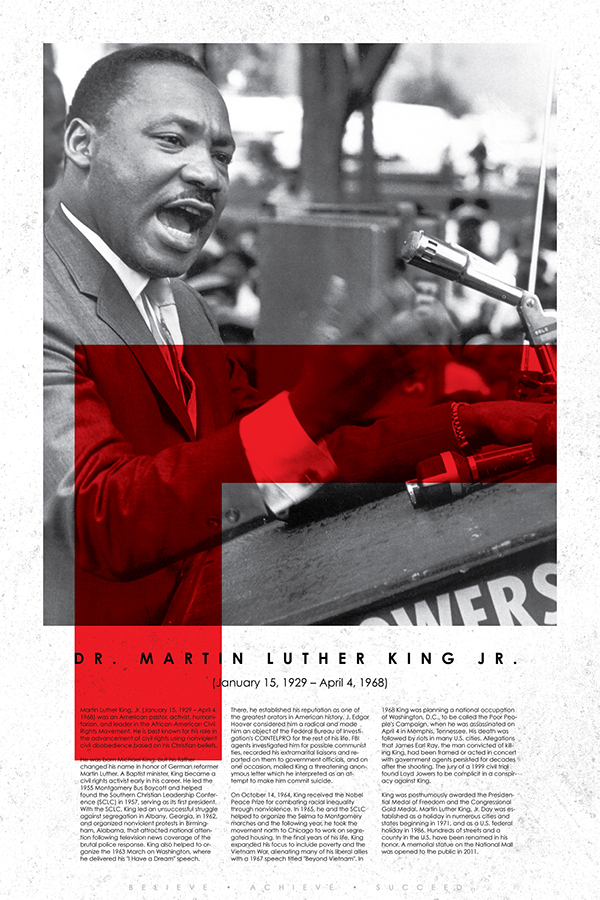 Black History Learning Posters on Behance