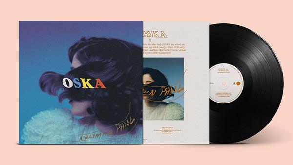 HONEYMOON PHASE - EP COVER DESIGN