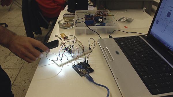 Arduino experimental live