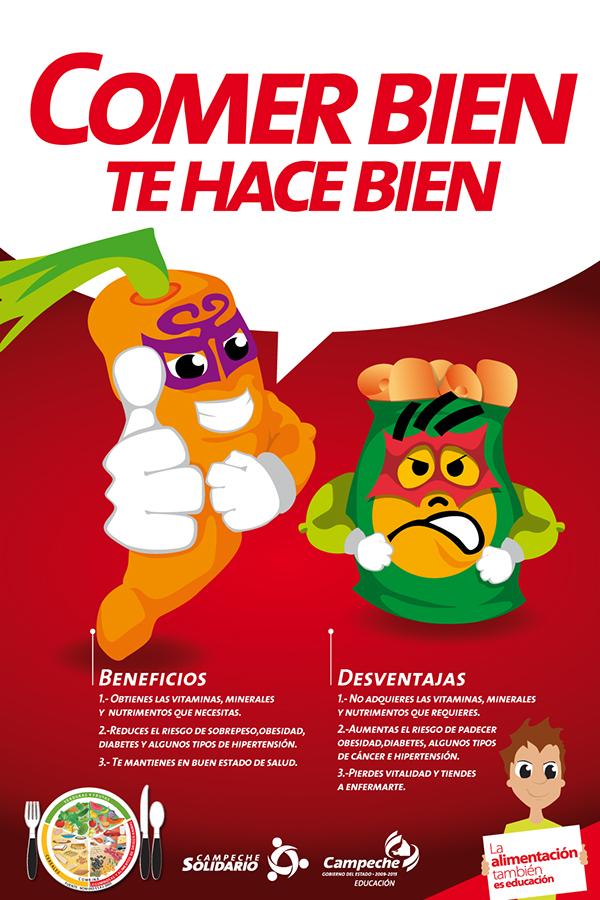 Campaña de Prevención del Sobrepeso y la Obesidad on Behance