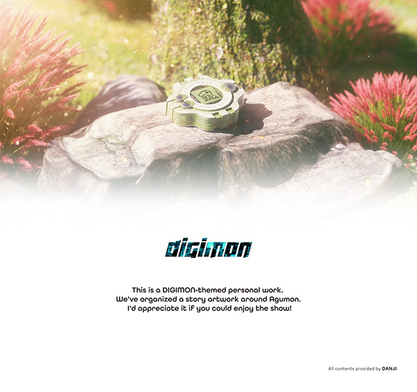 DIGIMON; AGUMON EVOLUTION!