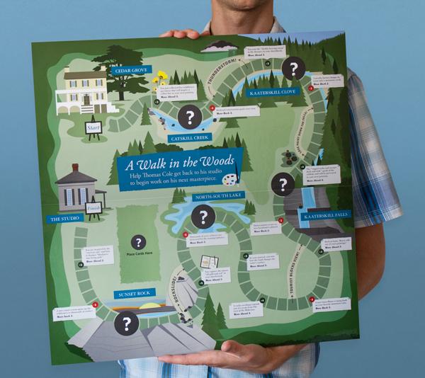 Adobe Portfolio board game museum exhibition