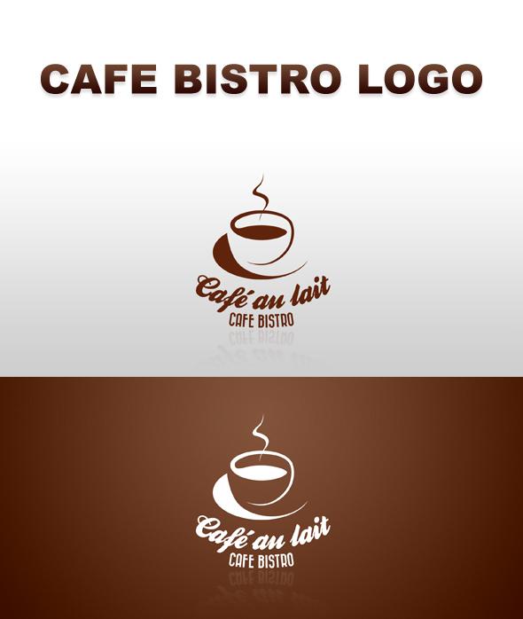 retro cafe bistro logo template psd on behance