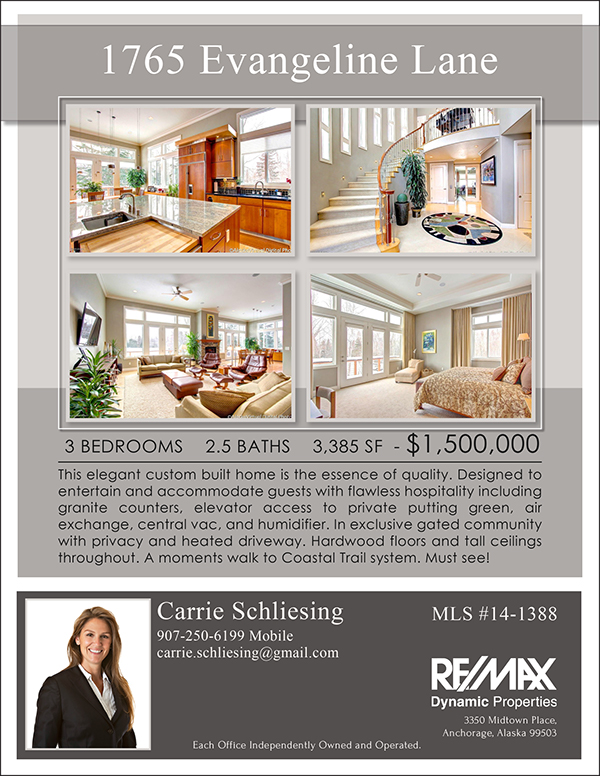Real Estate Marketing flyers