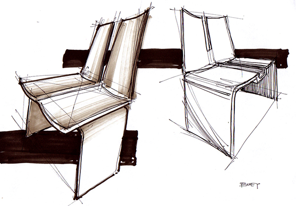 Merveilleux Design Sketches   Furniture Concepts On Behance
