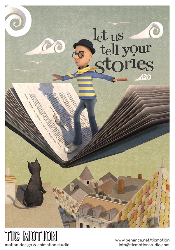 tic motion Beirut lebanon books story Flying Cat Character poster print Mascot Promotion Tim Burton little prince Le Petit Prince