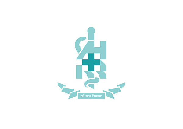 Rod Of Asclepius Greek Letters Associated With It