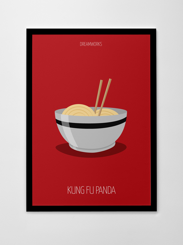 Minimalist Animation Movies Posters On Behance
