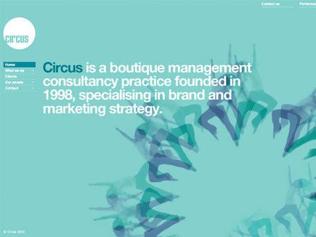 Circus London on Web Design Served