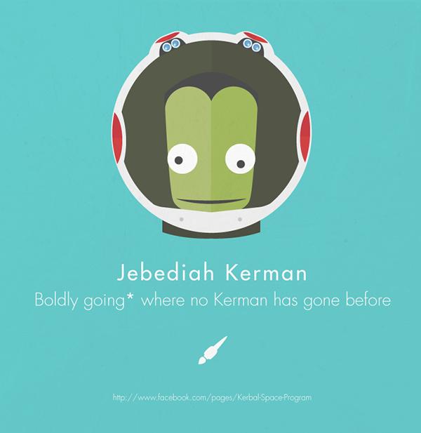 Kerbal Space Program Tribute on Behance