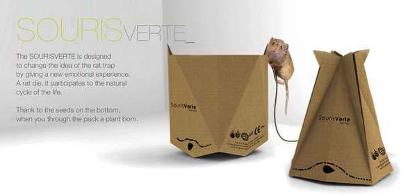 Rat trap SOURISVERTE on Behance