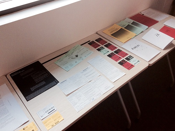 Glasgow School Of art Ez-link restrictions ephemeral singapore Daryl Lim Workshop