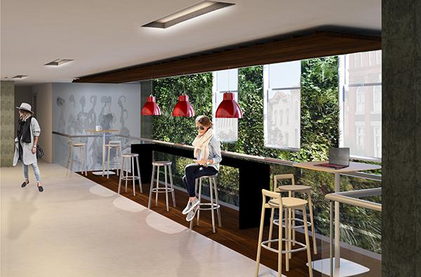 H Amp M Corporate Office Design On Scad Portfolios