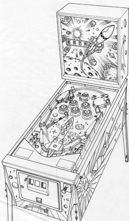 pinball machine artwork on behance