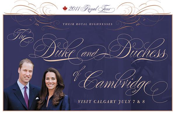 Royal Tour Parade Information