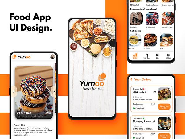 Yumoo - Food App UI