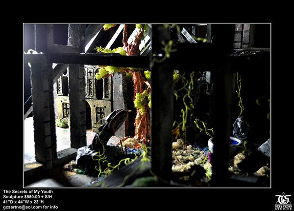 grey cross grey cross studios grey cross studio Urban Decay ruins fantasy sculpture