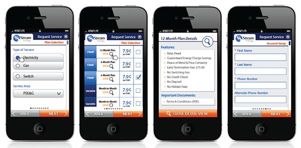 Stream Energy Phone Number >> Mobile App For Stream Energy On Behance